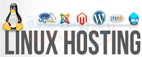 انواع استضافة مواقع لينكس linux